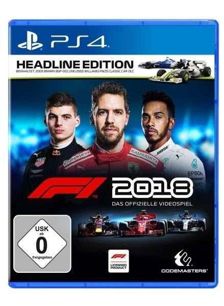 F1 2018 Headline Edition (PlayStation PS4) -