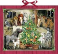 Pferde-Weihnacht Adventskalender -