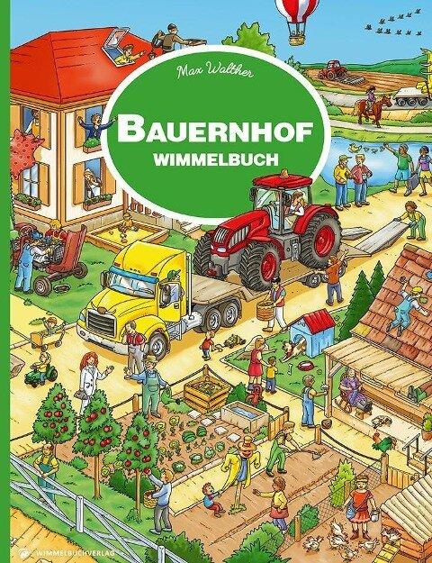 Bauernhof Wimmelbuch -