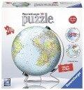 Globus in deutscher Sprache 3D Puzzle-Ball 540 Teile -