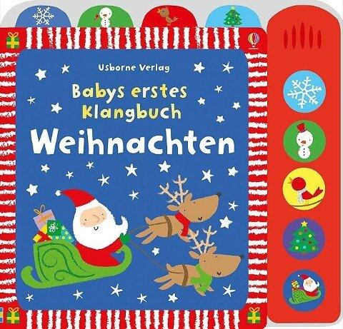 Babys erstes Klangbuch: Weihnachten - Fiona Watt