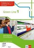 Green Line 1. Trainingsbuch Schulaufgaben mit Lösungen und Audio-CDs. Ausgabe Bayern ab 2017 -