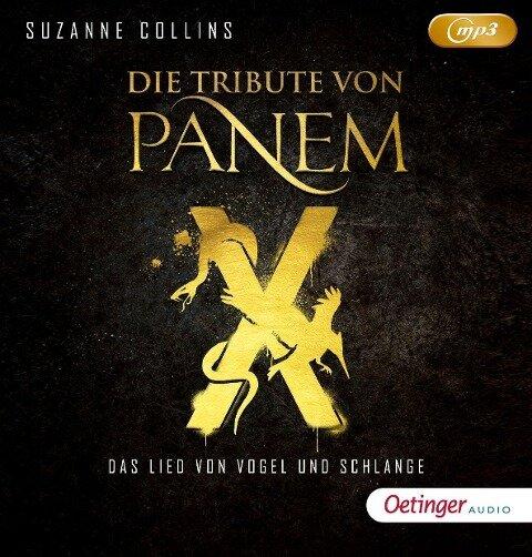 Die Tribute von Panem X. Das Lied von Vogel und Schlange (2mp3 CD) - Suzanne Collins