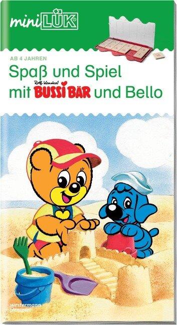 miniLÜK. Spaß und Spiel mit Bussi und Bello I -