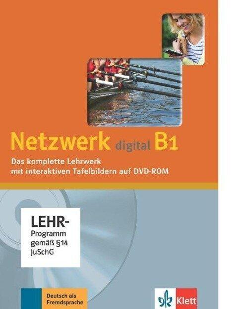 Netzwerk / Digitales Unterrichtspaket DVD-ROM B1 - Stefanie Dengler, Ralf-Peter Lösche, Paul Rusch, Helen Schmitz, Tanja Sieber