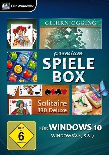 Premium Spielebox für Windows 10. Für Windows 7/8/10 -