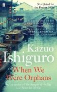When We Were Orphans - Kazuo Ishiguro