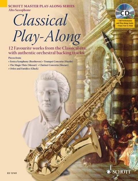 Classical Play-Along. Alt-Saxophon - Artem Vassiliev