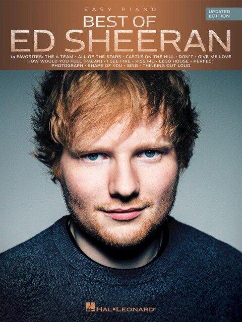 Best Of Ed Sheeran -Updated Edition- (Easy Piano Book) - Ed Sheeran