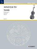 Sonate. Für Bratsche allein. op. 31/4. Bratsche. - Paul Hindemith