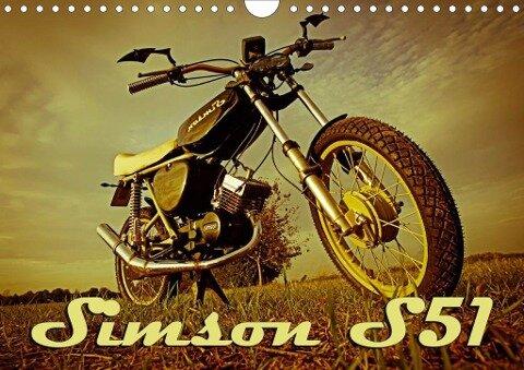 Simson S51 (Wandkalender 2020 DIN A4 quer) - Maxi Sängerlaub