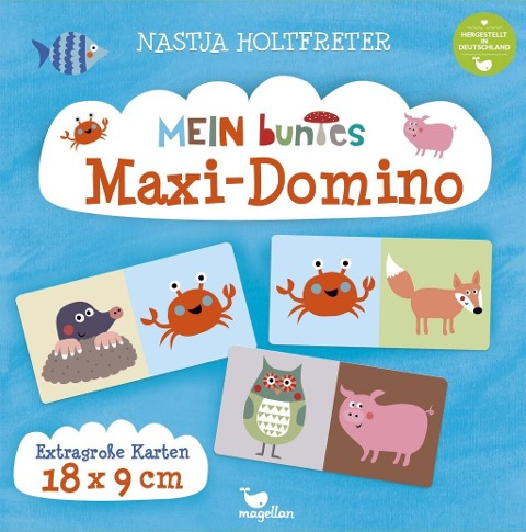 Mein buntes Maxi-Domino -