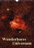 Wunderbares Universum (Wandkalender 2018 DIN A4 hoch) - k. A. MonarchC