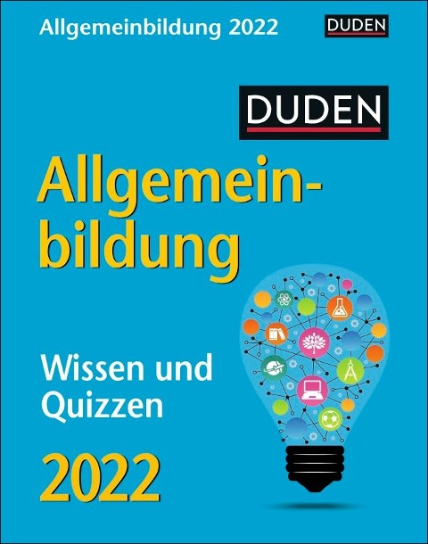Duden Allgemeinbildung 2022 - Thomas Huhnold