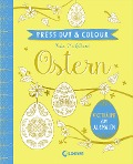 Press Out & Colour - Ostern -
