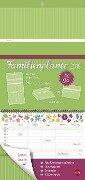 Familienplaner to go Blumen - Kalender 2018 -