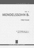 Intermezzo - Felix Mendelssohn Bartholdy
