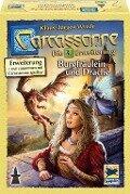 Carcassonne: Burgfräulein und Drache, Erweiterung 3. Neue Edition. -