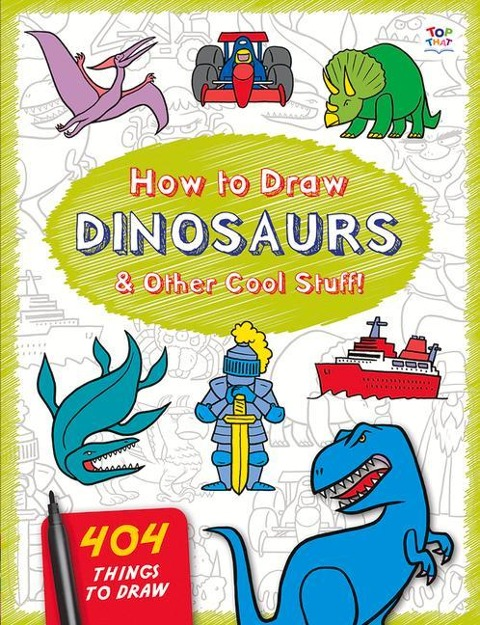 How to Draw Dinosaurs & Other Cool Stuff - Nat Lambert