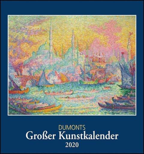 DuMonts Großer Kunstkalender 2020 - Klassische Moderne, Impressionisten, Expressionisten - Wandkalender Format 45 x 48 cm -