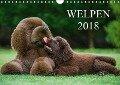 Welpen 2018 (Wandkalender 2018 DIN A4 quer) Dieser erfolgreiche Kalender wurde dieses Jahr mit gleichen Bildern und aktualisiertem Kalendarium wiederveröffentlicht. - Sigrid Starick