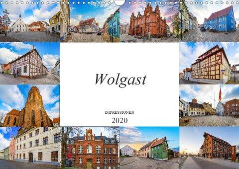 Wolgast Impressionen (Wandkalender 2020 DIN A3 quer) - Dirk Meutzner