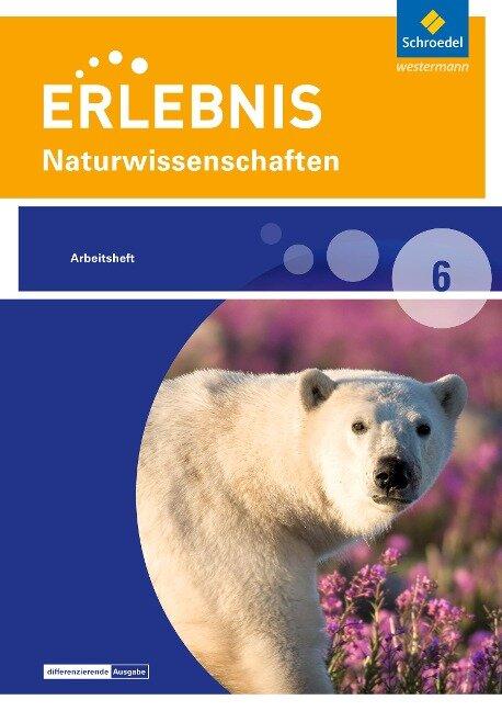 Erlebnis Naturwissenschaften 6. Arbeitsheft.- Differenzierende Ausgabe 2016 für Berlin und Brandenburg -