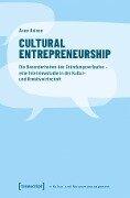 Cultural Entrepreneurship - Anne Heinze