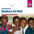 Reise Know-How Kauderwelsch AusspracheTrainer Bambara für Ma - Tim Hentschel