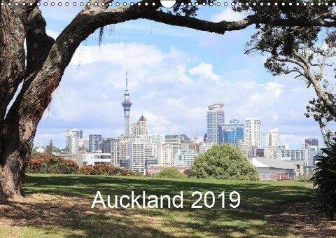 Auckland 2019 (Wandkalender 2019 DIN A3 quer) - k. A. NZ. Photos