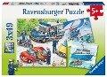Ravensburger Puzzle. Polizeieinsatz -