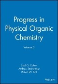 Progress in Physical Organic Chemistry -