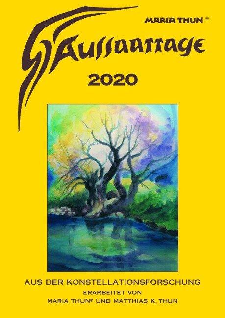 Aussaattage Maria Thun 2020 Großer Kalender - Maria Thun, Matthias K Thun