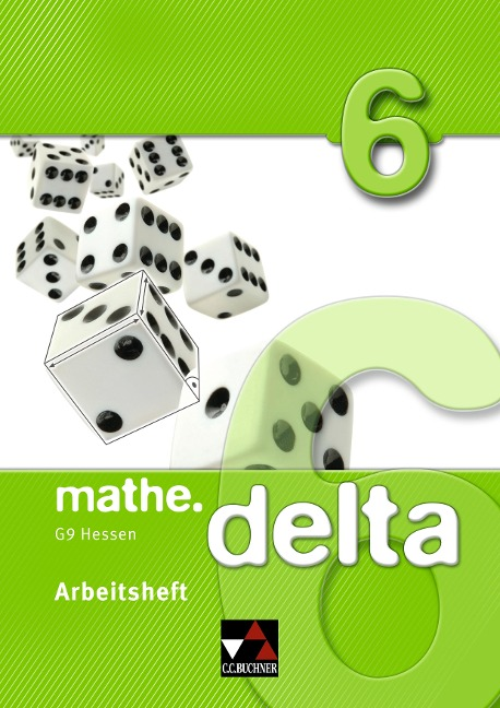 mathe.delta 6 Arbeitsheft Hessen (G9) -