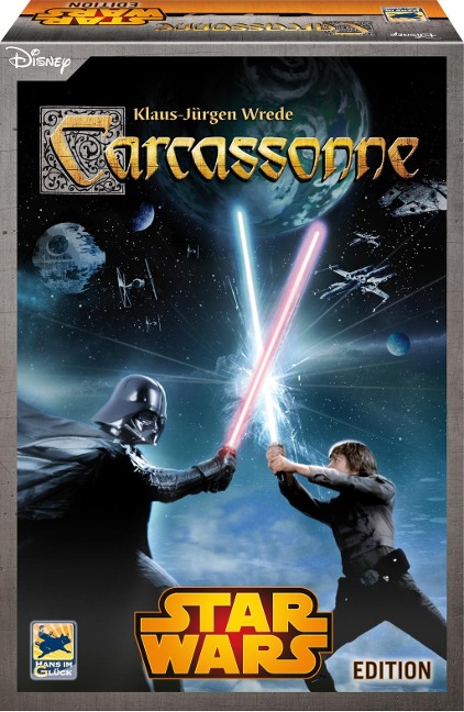 Carcassonne. Star Wars Edition -