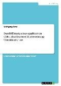 Durchführung eines qualitativen Chloridnachweises (Unterweisung Chemikant / -in) - Wolfgang Rave