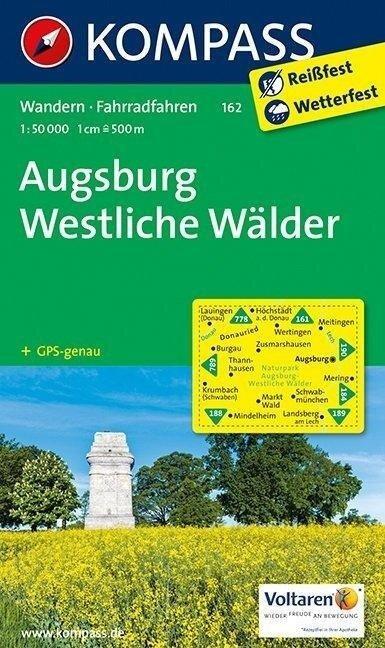 Augsburg - Westliche Wälder 1 : 50 000