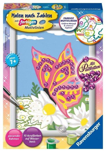 Schmetterling Malen nach Zahlen Sonderserie E -
