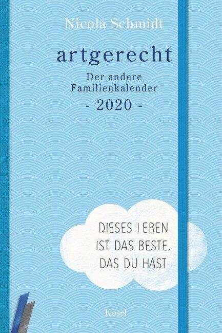 artgerecht - Der andere Familienkalender 2020 - Nicola Schmidt
