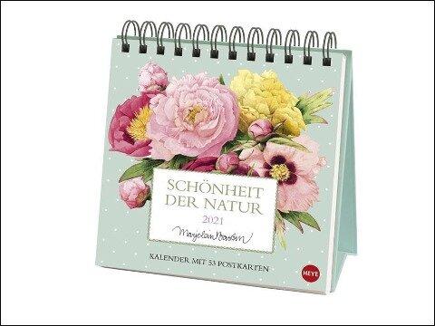 Schönheit der Natur Postkartenkalender 2021 - Marjolein Bastin