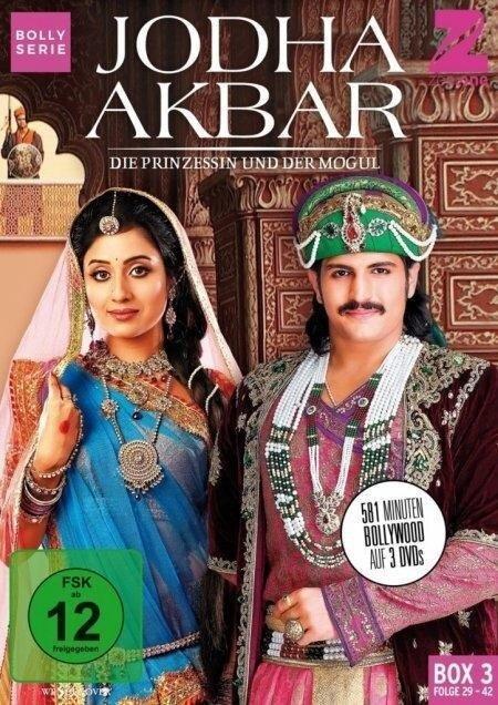 Jodha Akbar - Die Prinzessin und der Mogul (Box 3) (Folge 29-42) -