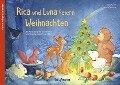 Rica und Luna feiern Weihnachten - Klara Kamlah