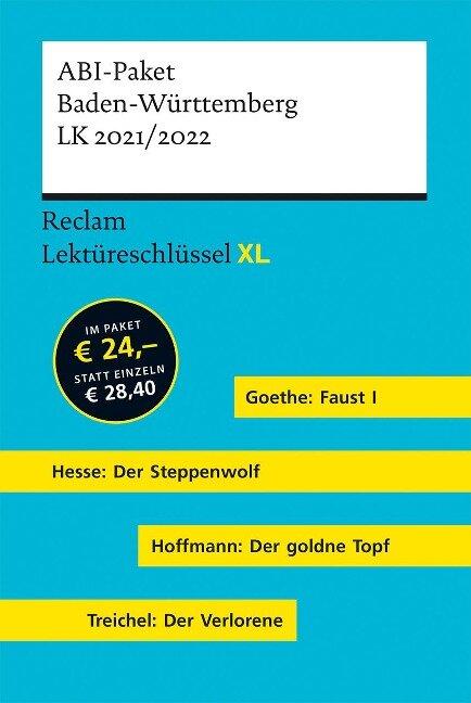 Lektüreschlüssel XL. ABI-Paket Baden-Württemberg LK 2021/2022 - Mario Leis, Georg Patzer, Martin Neubauer, Jan Standke