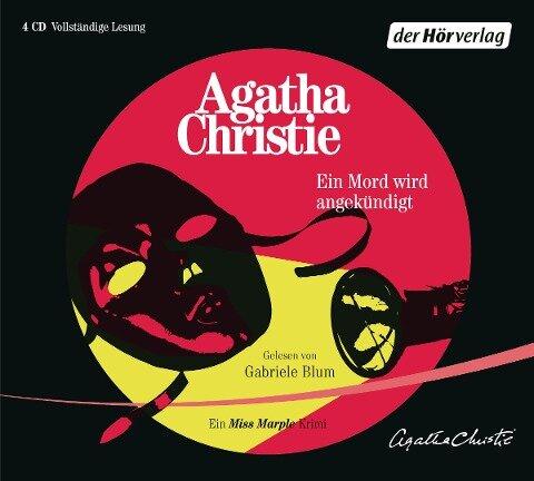 Ein Mord wird angekündigt - Agatha Christie