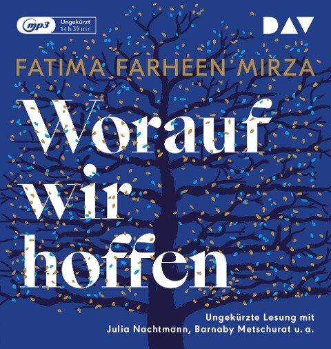 Worauf wir hoffen - Fatima Farheen Mirza