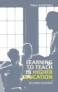 Learning to Teach in Higher Education - Paul Ramsden