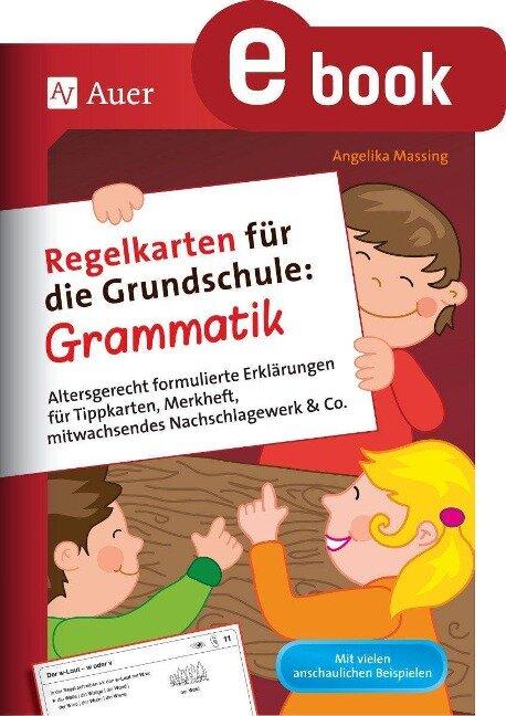 Regelkarten für die Grundschule Grammatik - Angelika Massing