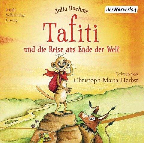 Tafiti 01 und die Reise ans Ende der Welt - Julia Boehme