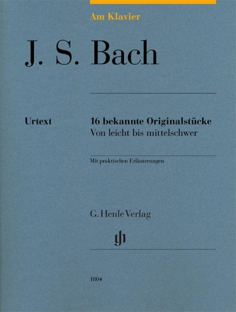 Am Klavier - J. S. Bach - Johann Sebastian Bach