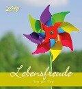 Lebensfreude 2018 Postkartenkalender -